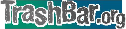 TrashBar Logo grey